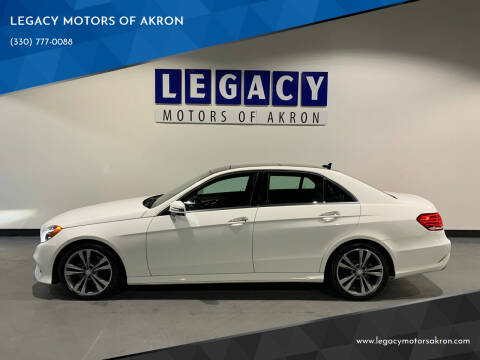 2014 Mercedes-Benz E-Class for sale at LEGACY MOTORS OF AKRON in Akron OH