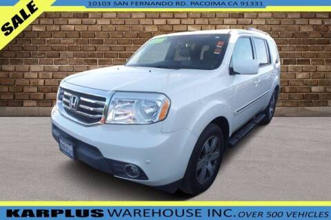 2015 Honda Pilot for sale at Karplus Warehouse in Pacoima CA