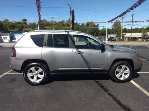 2016 Jeep Compass for sale at Kenny's Auto Sales Inc. in Lowell NC