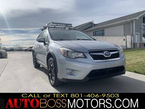 2015 Subaru XV Crosstrek for sale at Auto Boss in Woodscross UT