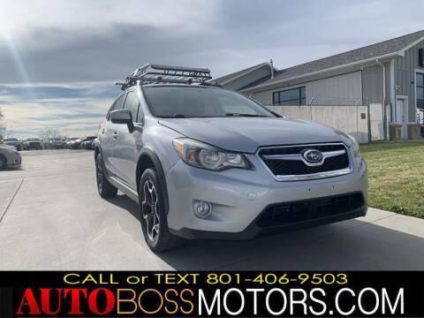 2015 Subaru XV Crosstrek for sale at Auto Boss in Woodscross UT