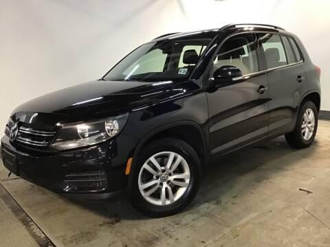 2017 Volkswagen Tiguan for sale at M Sport Motorcar in Hillside NJ