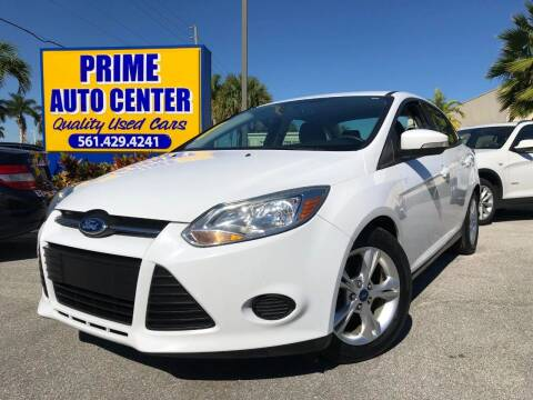 2014 Ford Focus for sale at PRIME AUTO CENTER in Palm Springs FL