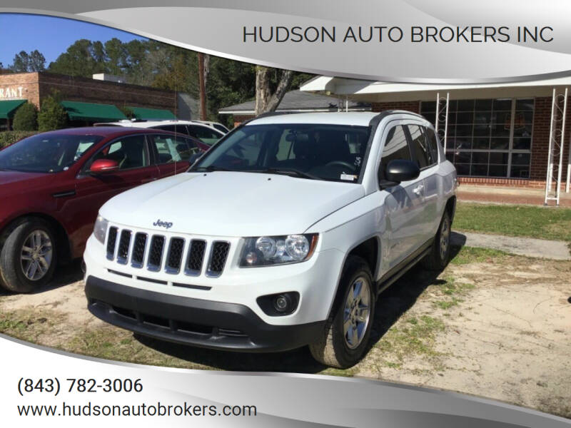 2015 Jeep Compass for sale at HUDSON AUTO BROKERS INC in Walterboro SC