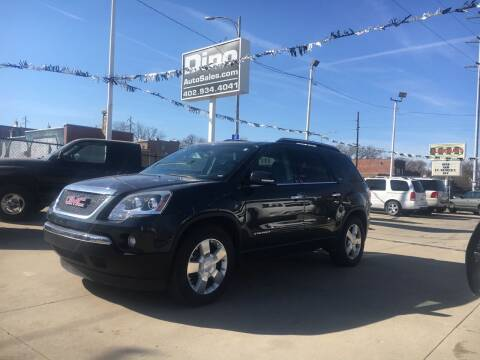 2007 GMC Acadia for sale at Dino Auto Sales in Omaha NE