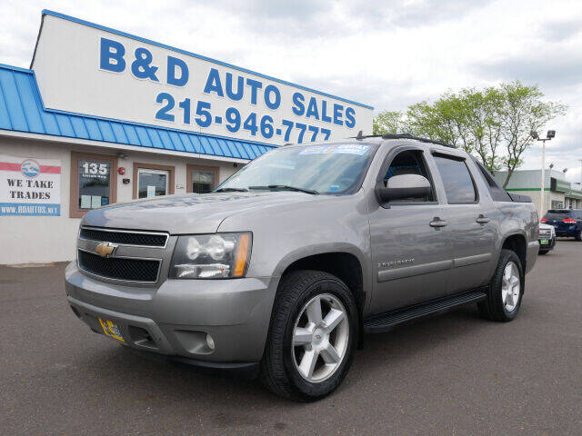 2008 Chevrolet Avalanche for sale at B & D Auto Sales Inc. in Fairless Hills PA