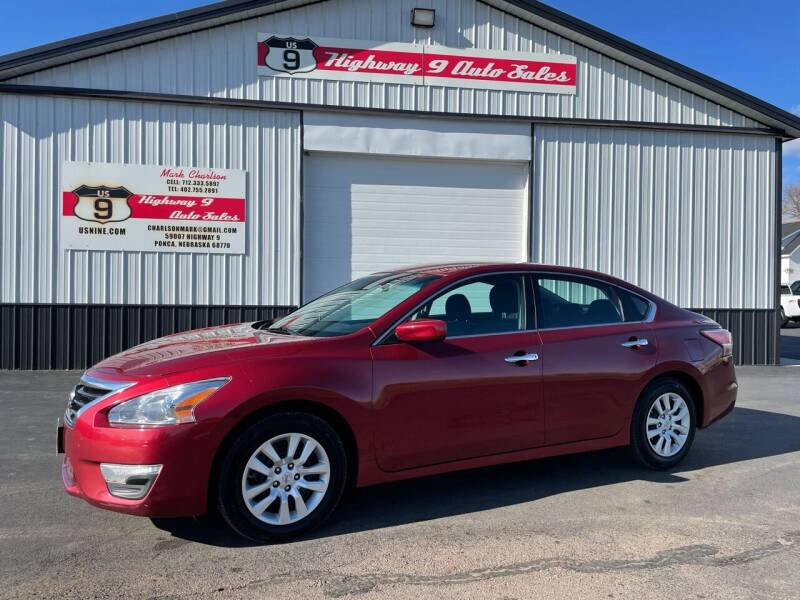 2015 Nissan Altima for sale at Highway 9 Auto Sales - Visit us at usnine.com in Ponca NE