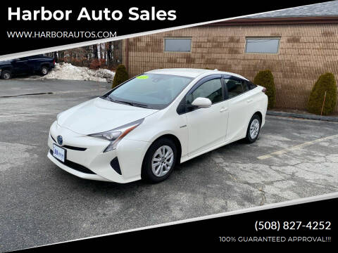 2017 Toyota Prius for sale at Harbor Auto Sales in Hyannis MA