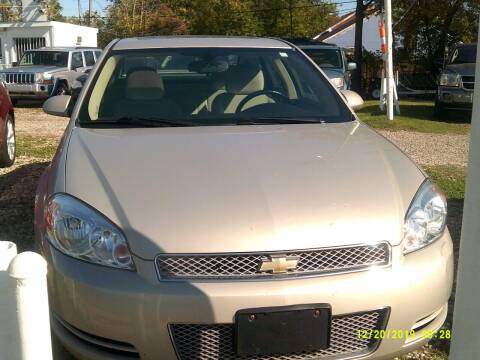2012 Chevrolet Impala for sale at DONNIE ROCKET USED CARS in Detroit MI