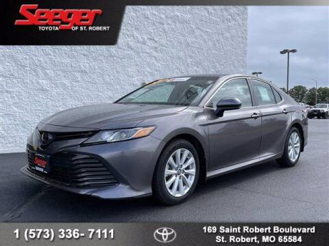 2018 Toyota Camry for sale at SEEGER TOYOTA OF ST ROBERT in Saint Robert MO