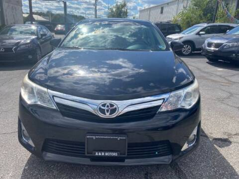 2012 Toyota Camry for sale at A&R Motors in Baltimore MD