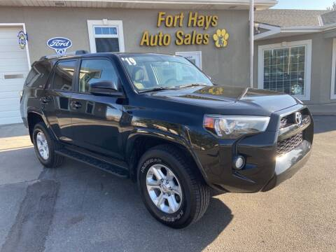 2019 Toyota 4Runner for sale at Fort Hays Auto Sales in Hays KS