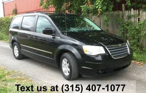 2010 Chrysler Town and Country for sale at Pete Kitt's Automotive Sales & Service in Camillus NY