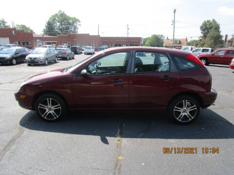 2007 Ford Focus for sale at Taylorsville Auto Mart in Taylorsville NC