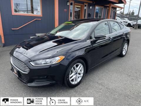2016 Ford Fusion for sale at Sabeti Motors in Tacoma WA