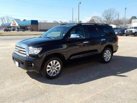 2014 Toyota Sequoia for sale at Young's Motor Company Inc. in Benson NC