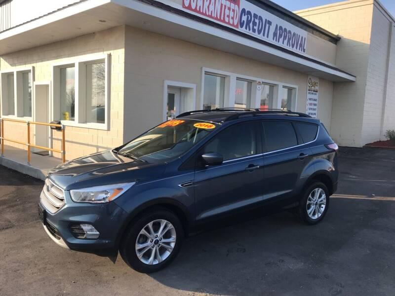 2018 Ford Escape for sale at Suarez Auto Sales in Port Huron MI
