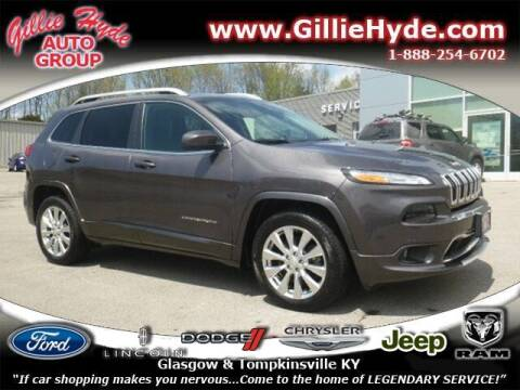 2018 Jeep Cherokee for sale at Gillie Hyde Auto Group in Glasgow KY