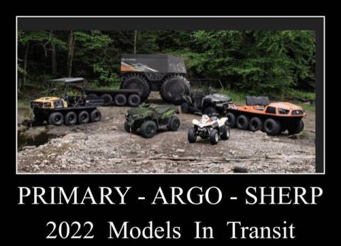 2022 Argo Amphibious Frontier 600 for sale at Primary Auto Group in Dawsonville GA