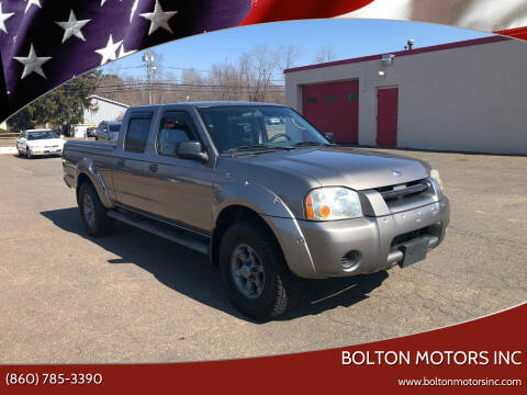 2004 Nissan Frontier for sale at BOLTON MOTORS INC in Bolton CT