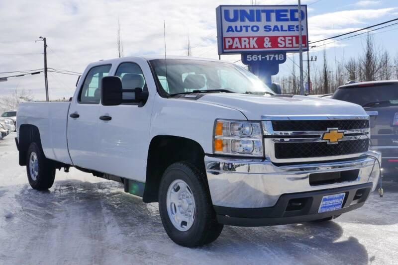 2013 Chevrolet Silverado 2500HD for sale at United Auto Sales in Anchorage AK