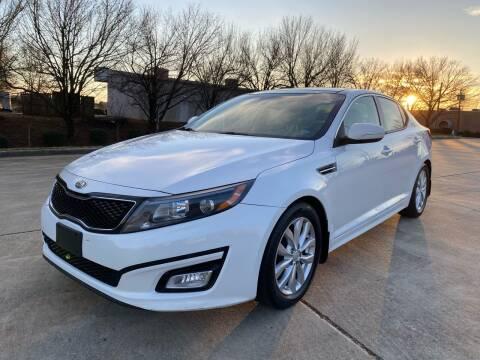 2014 Kia Optima for sale at Triple A's Motors in Greensboro NC