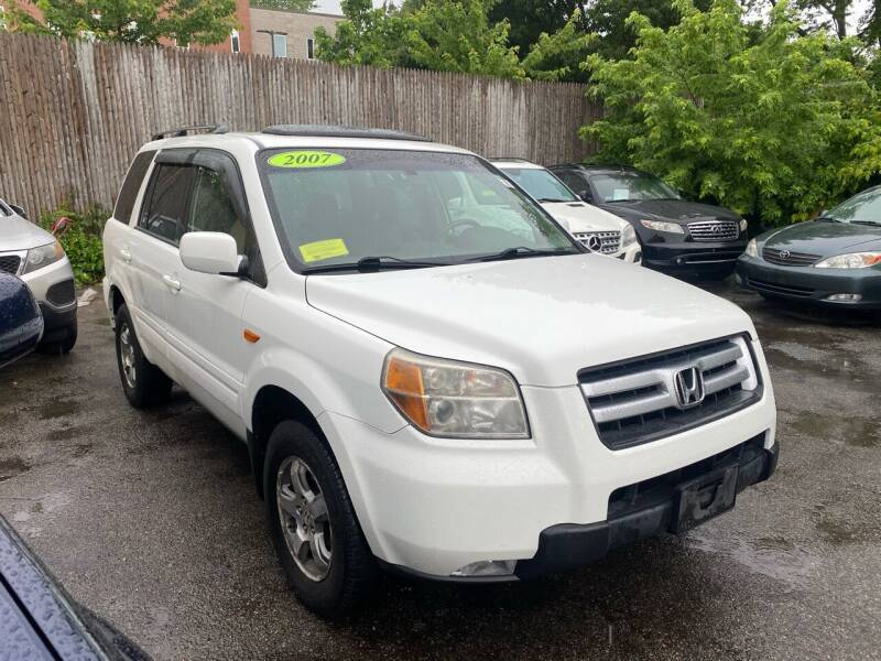 2007 Honda Pilot for sale at Polonia Auto Sales and Service in Hyde Park MA
