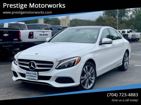 2018 Mercedes-Benz C-Class for sale at Prestige Motorworks in Concord NC
