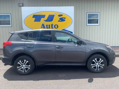 2015 Toyota RAV4 for sale at TJ's Auto in Wisconsin Rapids WI