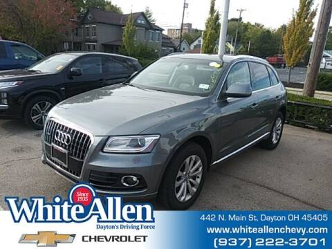 2013 Audi Q5 for sale at WHITE-ALLEN CHEVROLET in Dayton OH