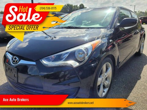 2013 Hyundai Veloster for sale at Ace Auto Brokers in Charlotte NC