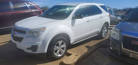 2011 Chevrolet Equinox for sale at Wolff Auto Sales in Clarksville TN