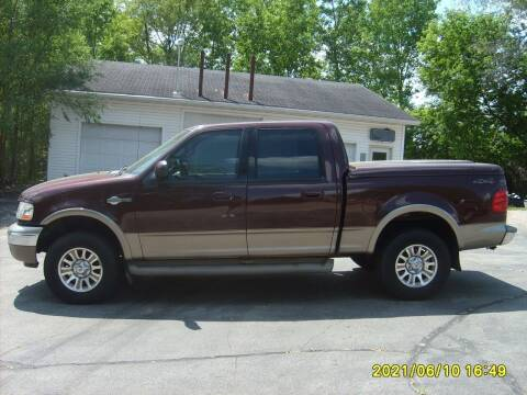 2001 Ford F-150 for sale at Northport Motors LLC in New London WI