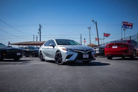 2018 Toyota Camry for sale at Jerrys Auto Sales in San Benito TX