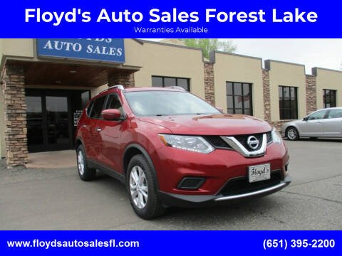 2016 Nissan Rogue for sale at Floyd's Auto Sales Forest Lake in Forest Lake MN