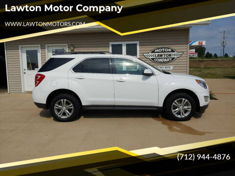 2016 Chevrolet Equinox for sale at Lawton Motor Company in Lawton IA