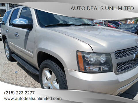 2007 Chevrolet Tahoe for sale at AUTO DEALS UNLIMITED in Philadelphia PA
