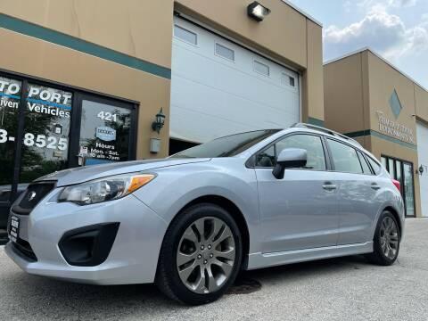 2013 Subaru Impreza for sale at REDA AUTO PORT INC in Villa Park IL