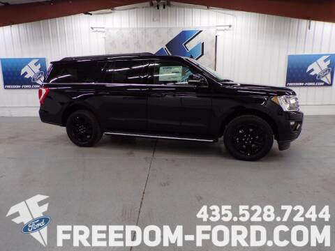 2021 Ford Expedition MAX for sale at Freedom Ford Inc in Gunnison UT