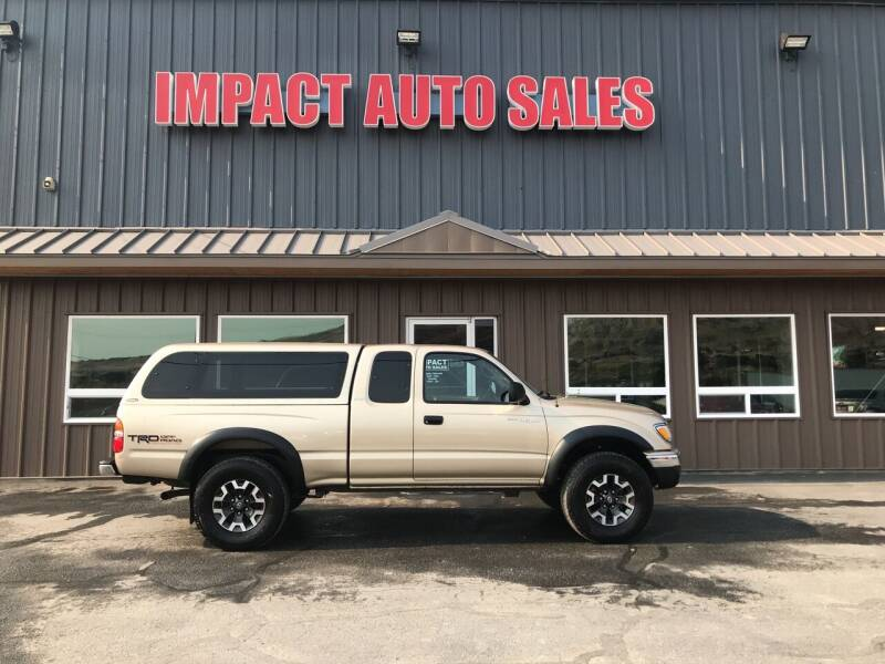 2002 Toyota Tacoma for sale at Impact Auto Sales in Wenatchee WA