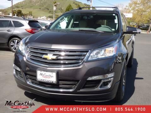 2015 Chevrolet Traverse for sale at McCarthy Wholesale in San Luis Obispo CA