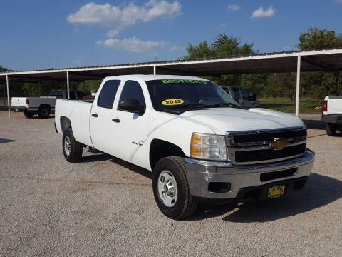 2012 Chevrolet Silverado 2500HD for sale at Bostick's Auto & Truck Sales in Brownwood TX
