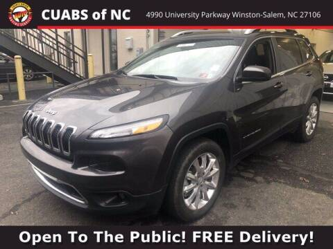 2017 Jeep Cherokee for sale at Summit Credit Union Auto Buying Service in Winston Salem NC