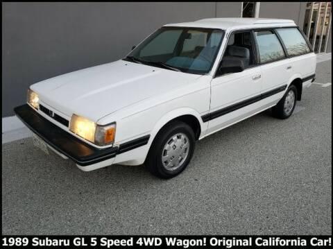 1989 Subaru GL for sale at Classic Car Deals in Cadillac MI