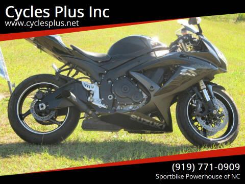 2009 Suzuki GSX-R600 for sale at Cycles Plus Inc in Garner NC