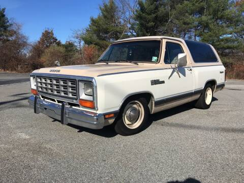 1983 Dodge Ramcharger for sale at Clair Classics in Westford MA