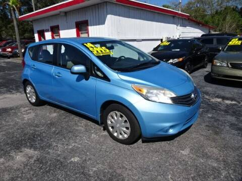 2014 Nissan Versa Note for sale at DONNY MILLS AUTO SALES in Largo FL