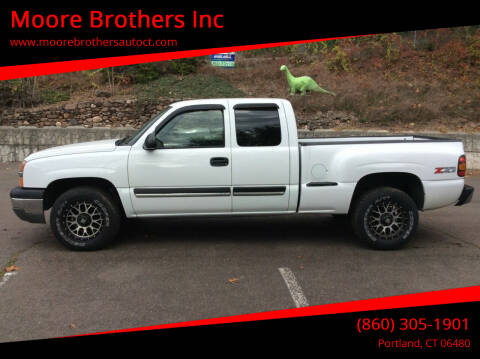 2004 Chevrolet Silverado 1500 for sale at Moore Brothers Inc in Portland CT