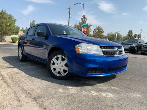 2012 Dodge Avenger for sale at Boktor Motors in Las Vegas NV
