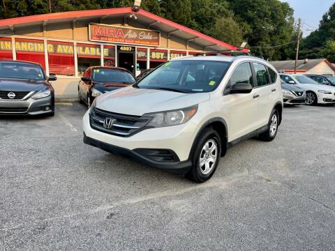 2014 Honda CR-V for sale at Mira Auto Sales in Raleigh NC